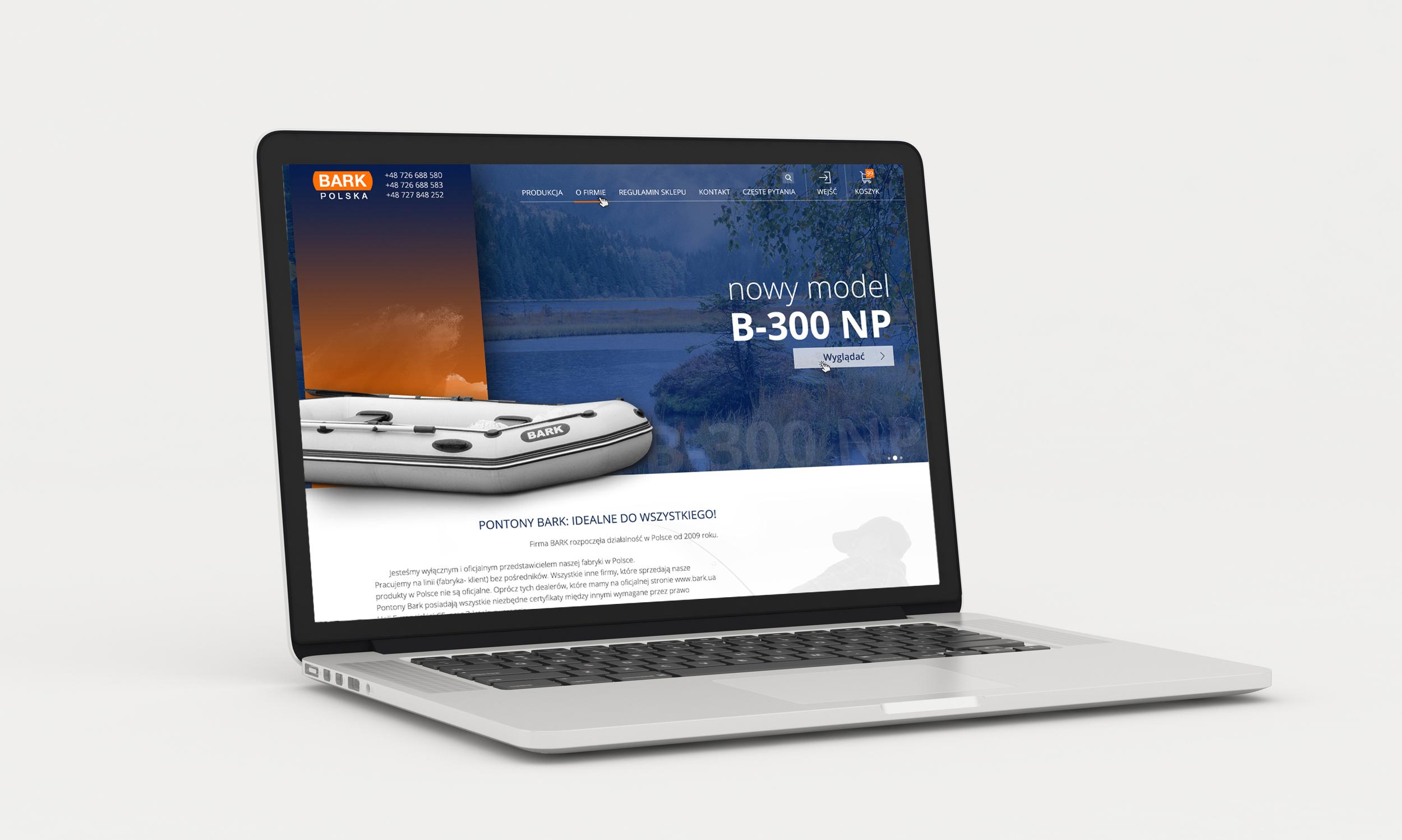 Польский интернет-магазин по продаже Лодок и аксессуаров
