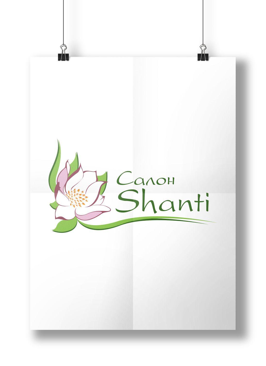 """Логотип для салона """"Шанти"""""""